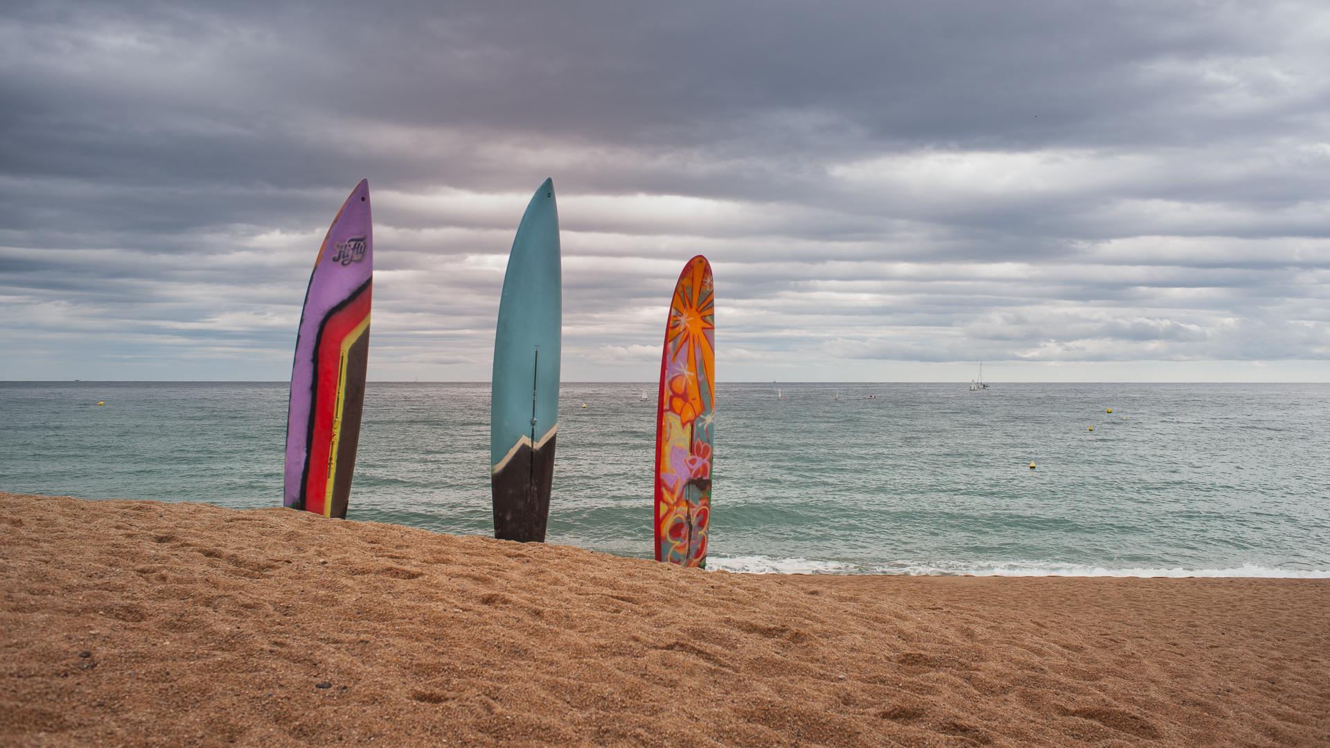 Velas de surf